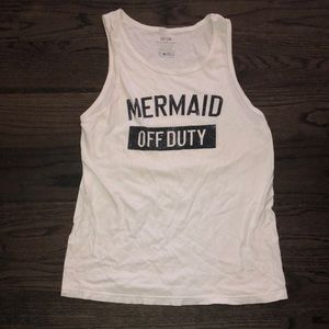 Mermaid Off Duty swimsuit coverup